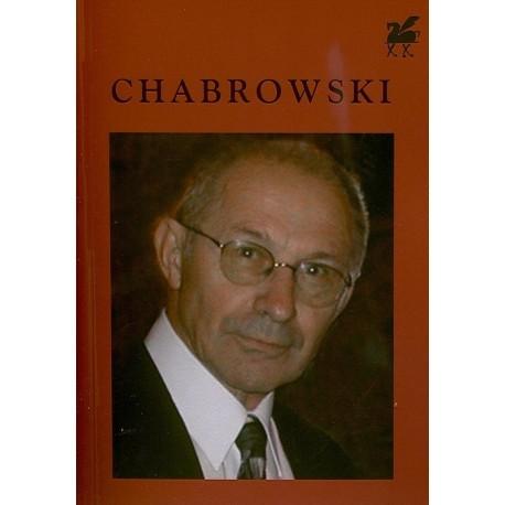Poezje wybrane - Tadeusz Chabrowski