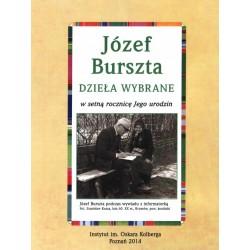 Dzieła wybrane - Józef Burszta - płyta CD
