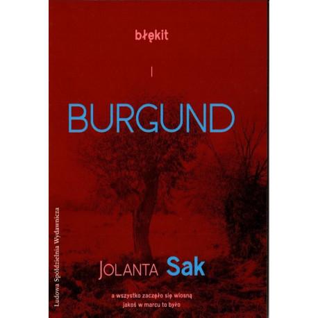 Błękit i burgund – Jolanta Sak